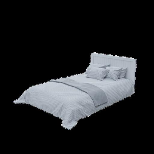 Grand duvet bed