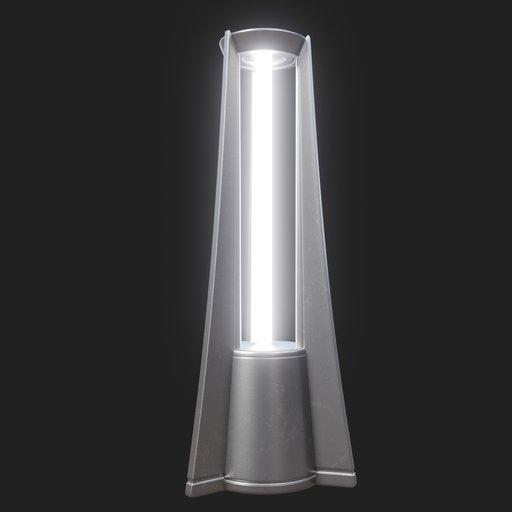 Thumbnail: Modern Street Lamp (short) #03