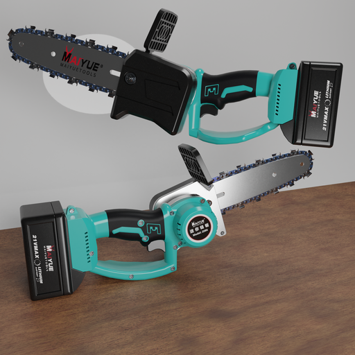 Thumbnail: One-handed cordless chainsaw