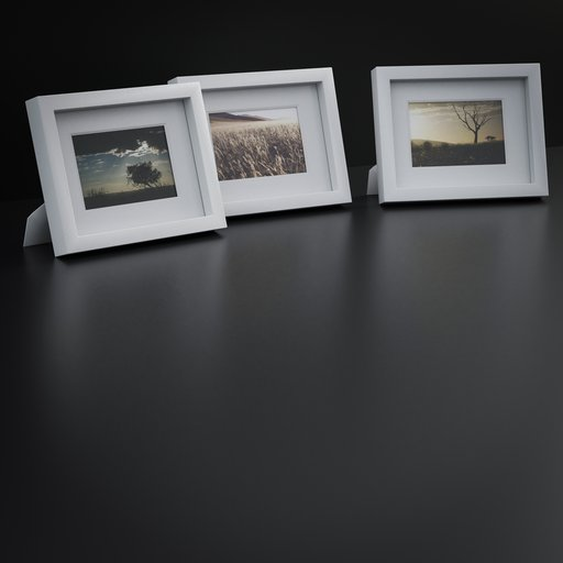 Thumbnail: Three Decoration picture frames