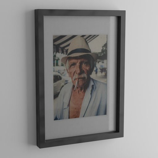 Thumbnail: Picture with frame and passepartout