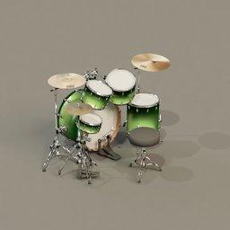 Thumbnail: Drumset