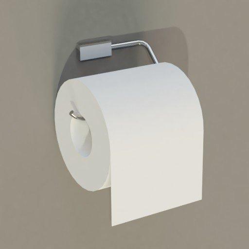 Thumbnail: Toilet paper dispenser