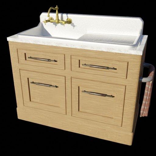 Thumbnail: Kitchen Sink Unit