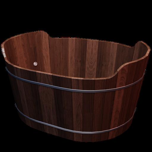 Thumbnail: Wood Standard Oval Hot Tub