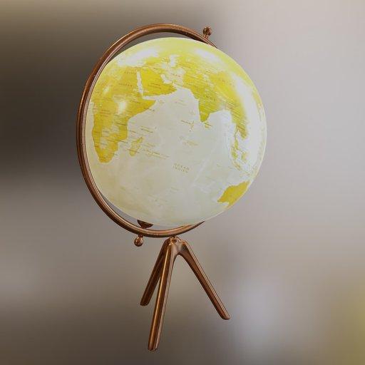Thumbnail: Earth globe