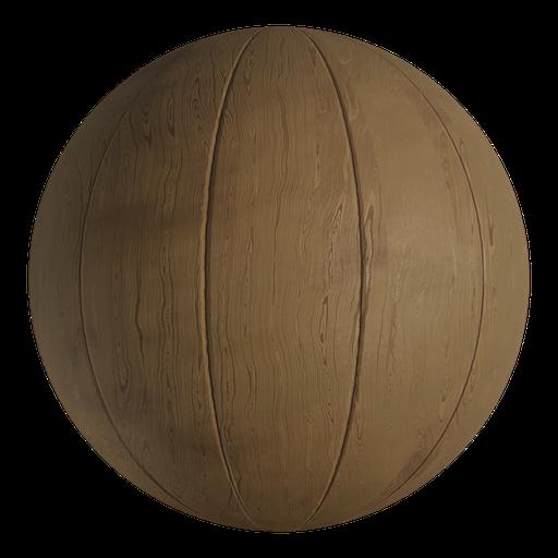 Thumbnail: Procedural Light Wood Plates