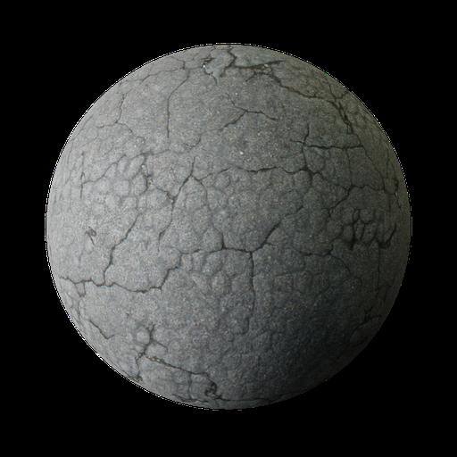 Thumbnail: Asphalt Cracks 001