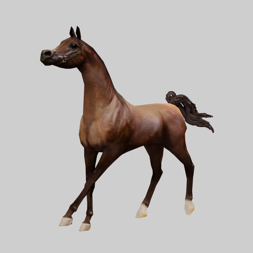 Thumbnail: Arabian Horse Trotting