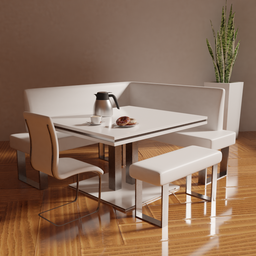 Thumbnail: Modern Table and Chairs
