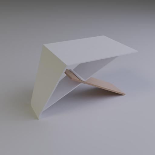 Thumbnail: Aluminium&Wood Table