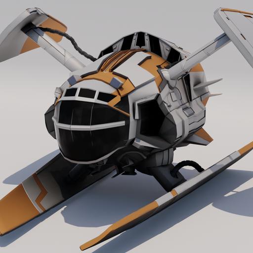 Thumbnail: Kezrek G1 Spaceship