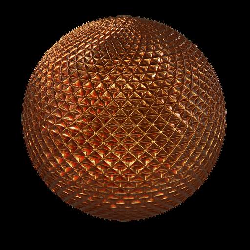 Thumbnail: Carlight triangle chrome orange