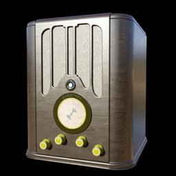 Thumbnail: Antique Radio 03