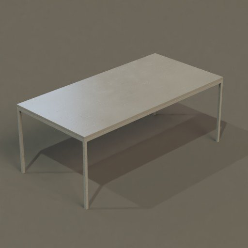 Thumbnail: Minimalist Steel+Concrete Table