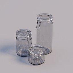 Thumbnail: set of Jars empty