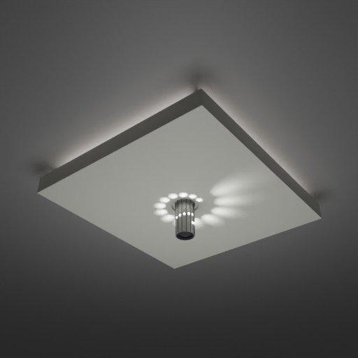 Thumbnail: Swirl LED Ceiling Light panel