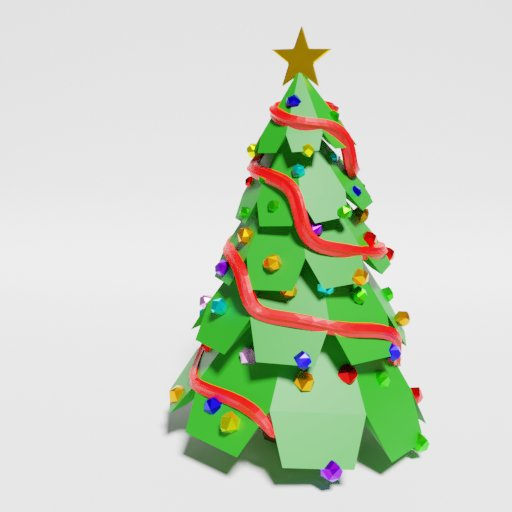 Thumbnail: Low Poly Christmas Tree