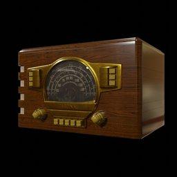 Thumbnail: Antique Radio 01