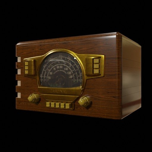 Thumbnail: Antique Radio 01