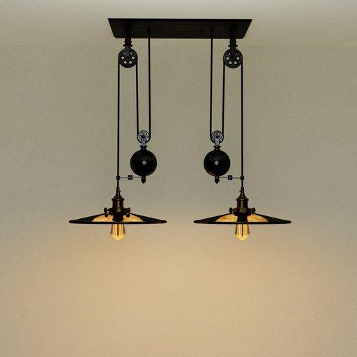 Thumbnail: Loft vintage lamp