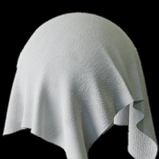 Thumbnail: Fluffy White Towel