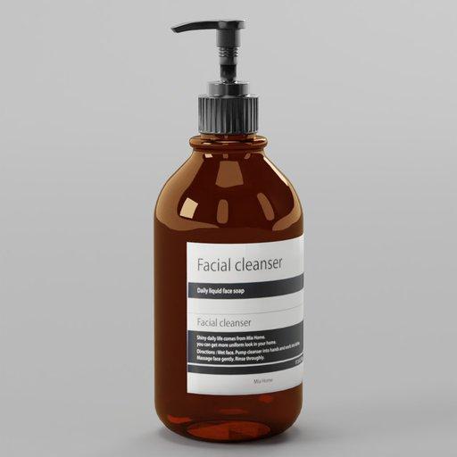 Thumbnail: Aesop Facial Cleanser Soap Bottle