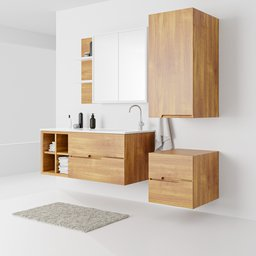 Thumbnail: Bathroom Furniture Set