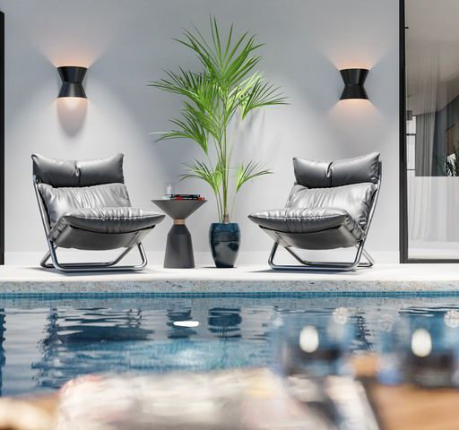 Thumbnail: Seating by the pool