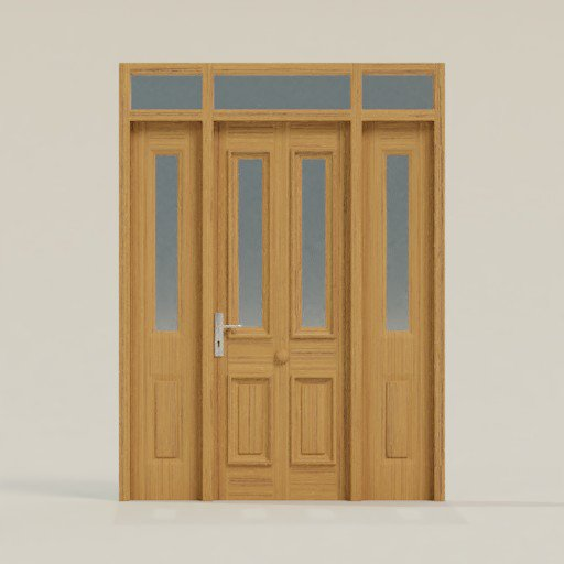 Thumbnail: House Door 180x 12 x 242