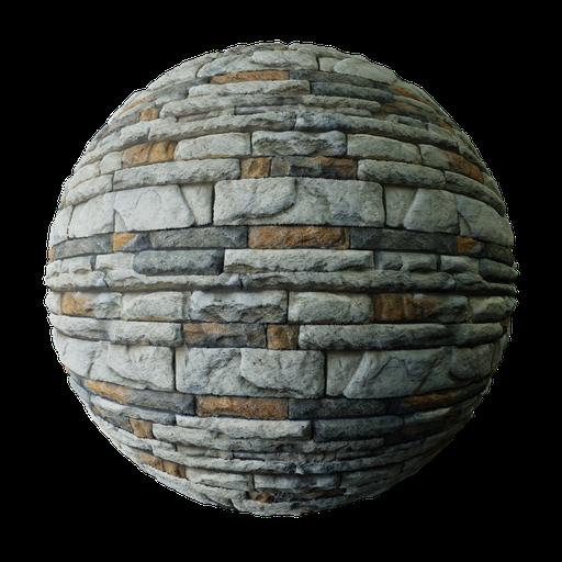 Thumbnail: Gray and Brown Concrete Brick Wall