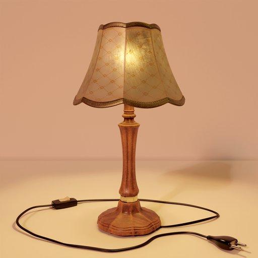 Thumbnail: Configurable vintage table lamp