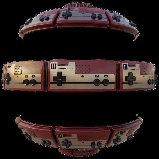 Thumbnail: Famicom Controller P2