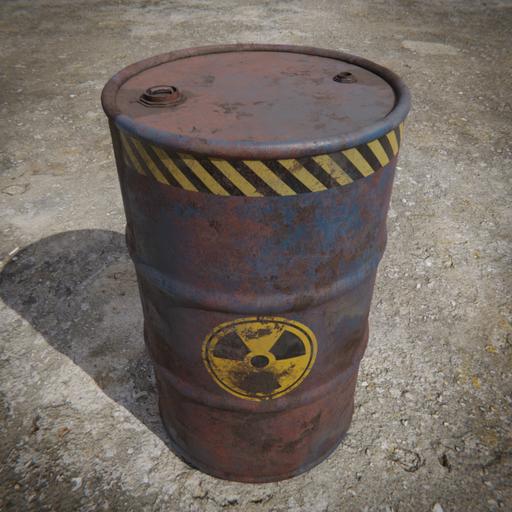 Toxic Barrel Blue