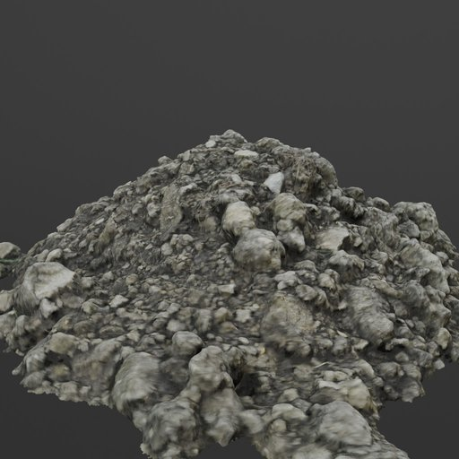 Thumbnail: Photoscanned Pile of Clumpy Dirt