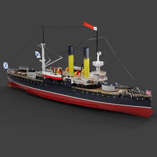 Thumbnail: Coast defense ship