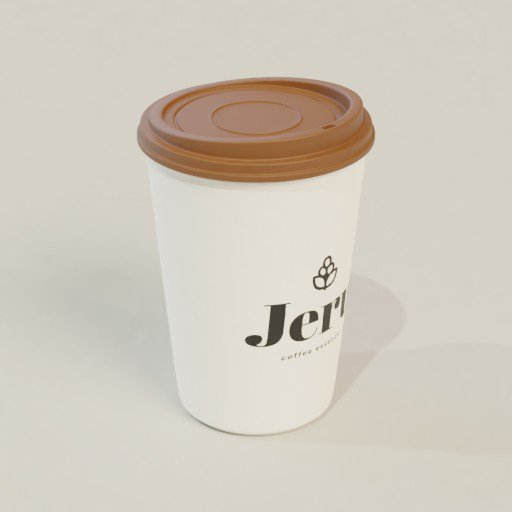 Thumbnail: Coffee Cup with Cap