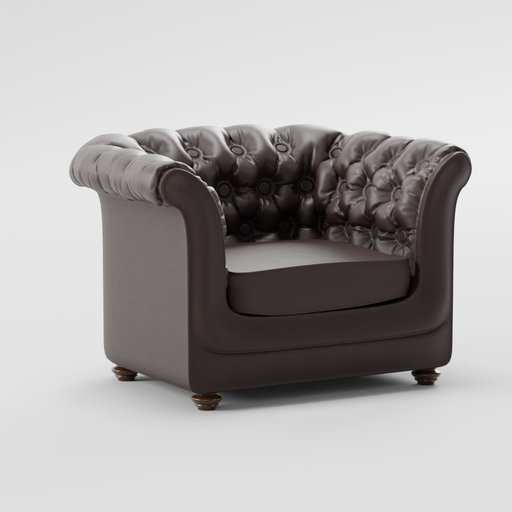 Thumbnail: Armchair chesterfield based