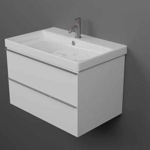 Thumbnail: Modern Bathroom sink