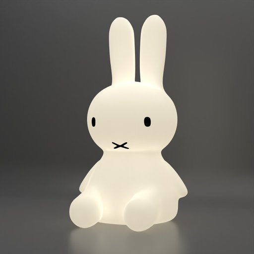 Bunny Miffy Light Stand Lamp