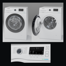 Thumbnail: Samsung ww80r421hfx White Washer