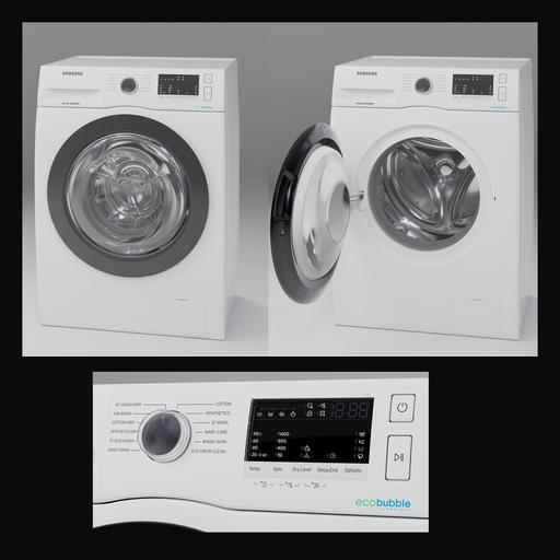 Thumbnail: Samsung ww80r421hfx White Washer