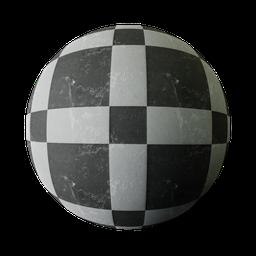 Thumbnail: Black and white tiles