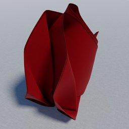 Thumbnail: Flame folded Napkin