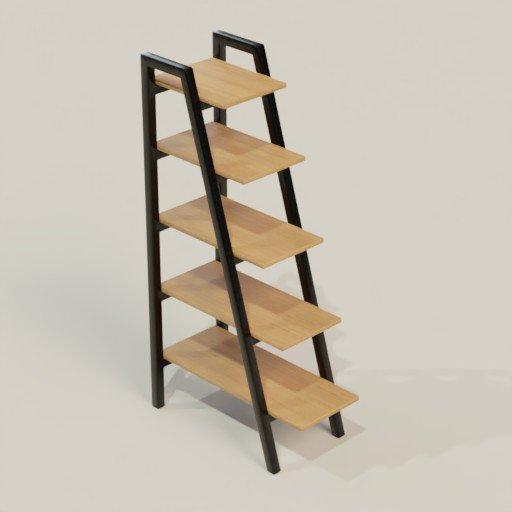 Thumbnail: Rack Shelving Bookcase 40 x 70 x 150