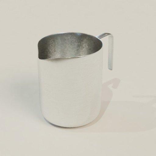 Thumbnail: Stainless Steel Milk Jug
