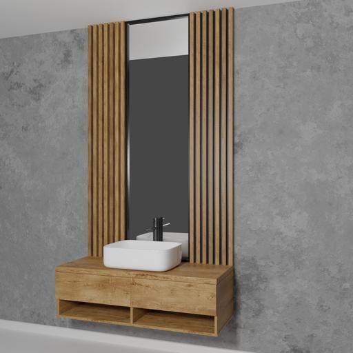 Thumbnail: Bathroom furniture set