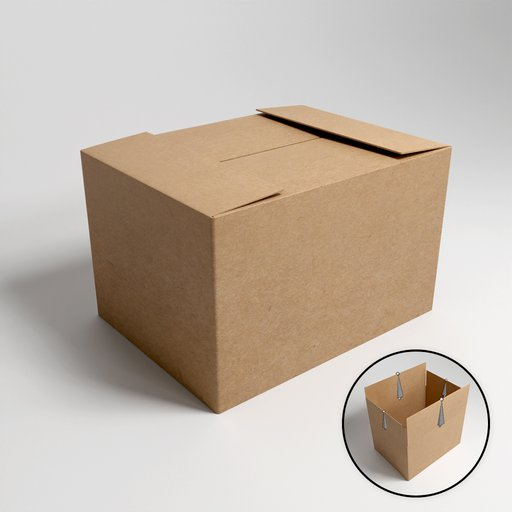 Thumbnail: Cardboard box