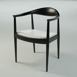 Thumbnail: Modern Wooden Chair