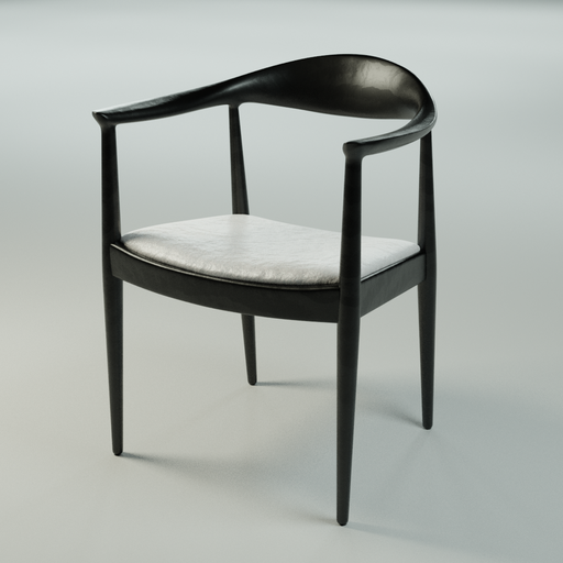 Thumbnail: Modern Wooden Chair